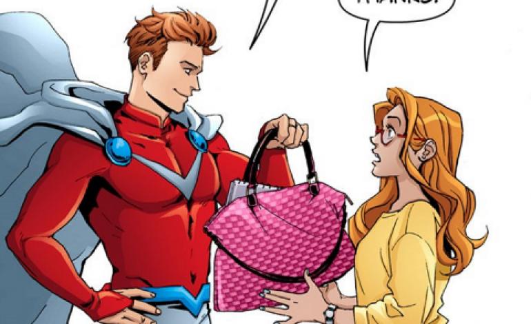 La moda (per supereroi) diventa un fumetto