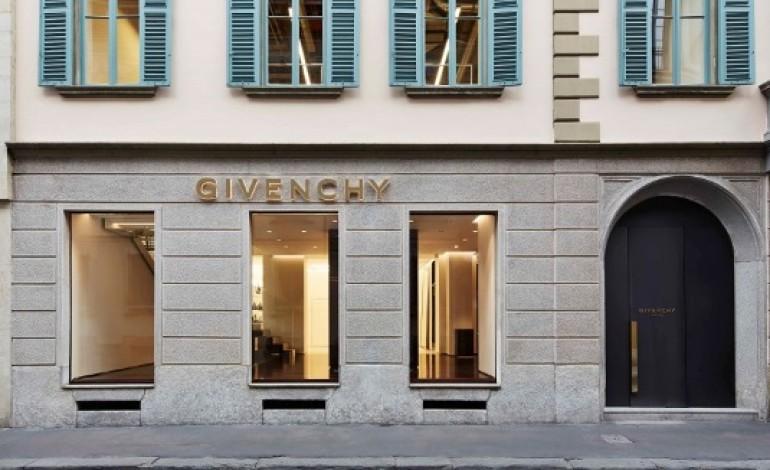 Givenchy, primo flagship italiano