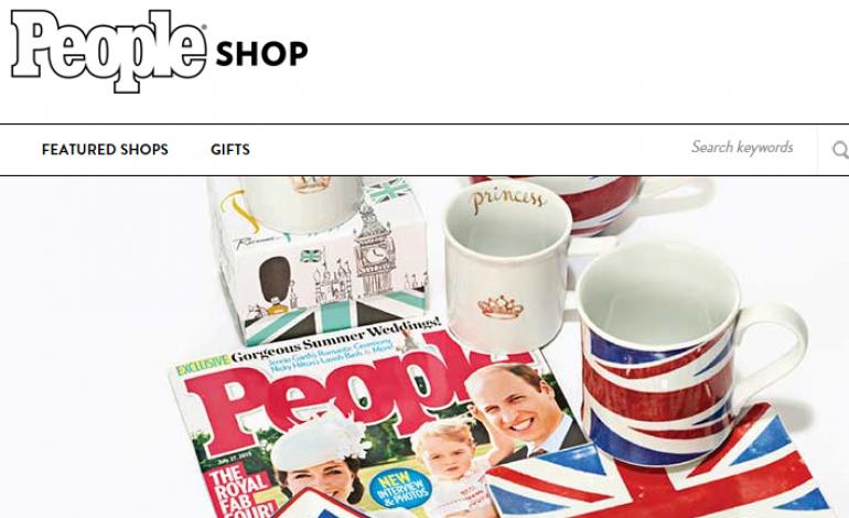 Anche il magazine People diventa e-commerce