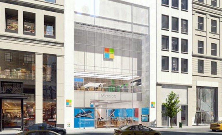Microsoft sfida Apple sulla 5th Avenue