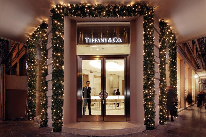 Negozio Tiffany & Co. di Roma.
