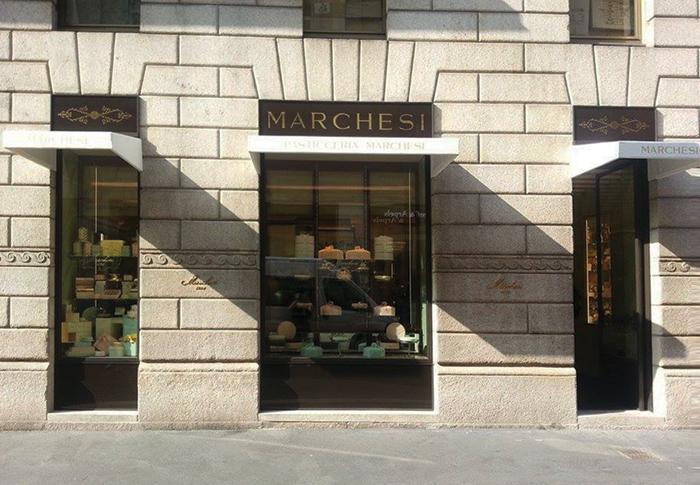 Pasticceria Marchesi in Montenapoleone