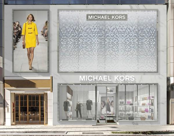 Michael Kors, opening a Tokyo