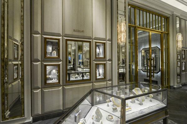 Buccellati, corner da Bergdorf Goodman