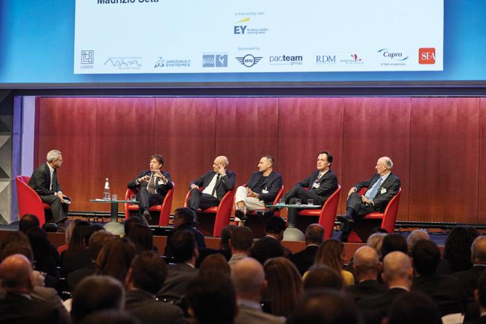 Da sinistra Mario Filippi Coccetta, Toni Scervino, Maurizio Setti, e David Pambianco.