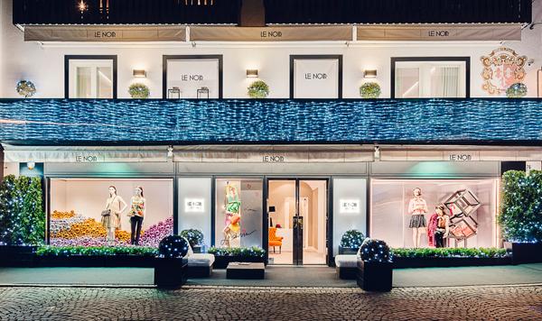 Le Noir, debutto al Fashion Weekend di Cortina