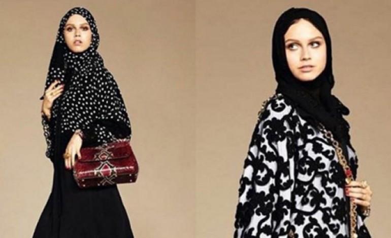 Abaya e hijad firmati Dolce & Gabbana