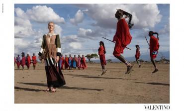 Valentino va in Africa con McCurry