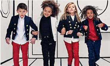 Balmain, esordio nel kidswear