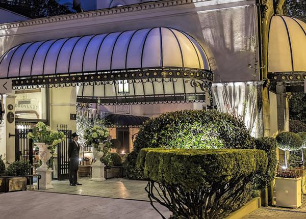 L'hotel Aldrovandi a Roma passa ai turchi di Dogus
