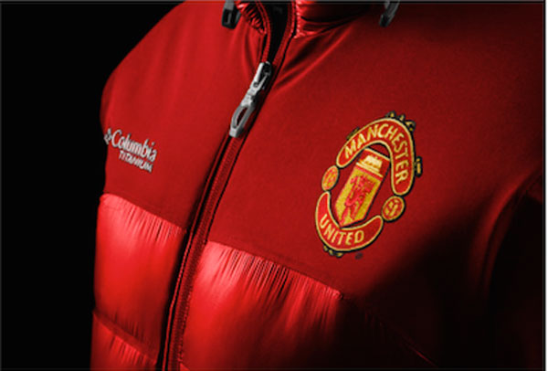 Columbia, accordo con il Manchester United