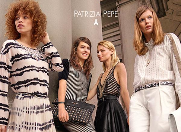 Dive contemporanee per l'adv di Patrizia Pepe