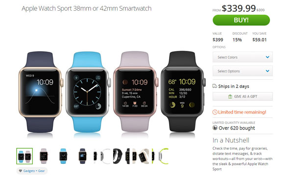 Apple Watch a 'sconto' su Groupon