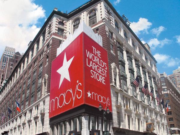 Macy's, utili 2015 in discesa del 30%
