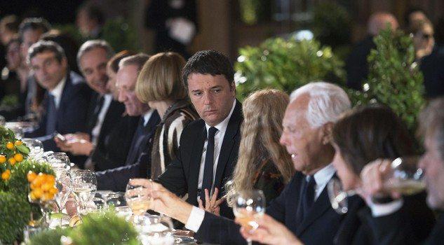 Renzi celebra la moda, ma senza annunci