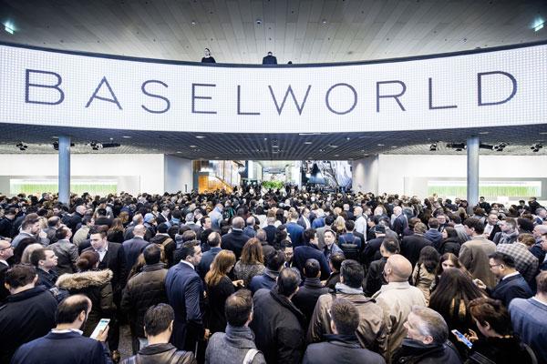 Baselworld, calano i visitatori (-3%)