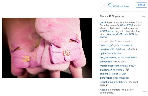 Per la Mfw, 10 mln di interazioni su Instagram