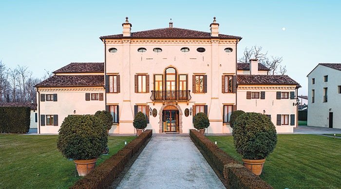 La sede di Kering Eyewear presso Villa Zaguri a Padova