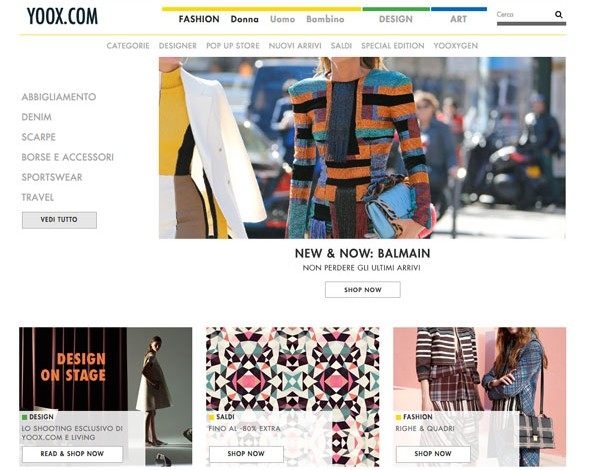 Yoox Net-a-porter, patto con Ibm