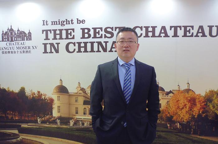 Jian Sun, direttore generale del colosso cinese del vino Changyu