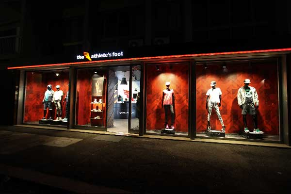 The Athlete's Foot debutta in Italia