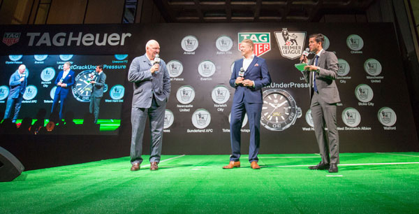 Tag Heuer in campo con la Premier League