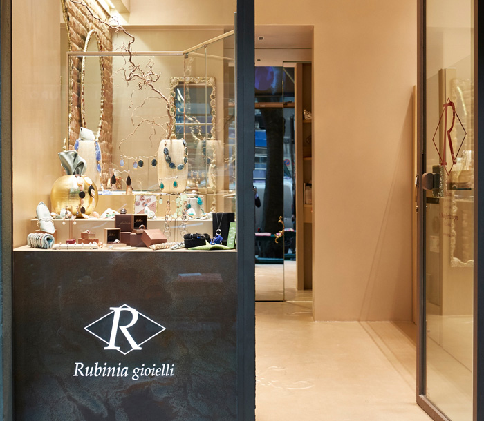 Negozio Rubinia a Milano