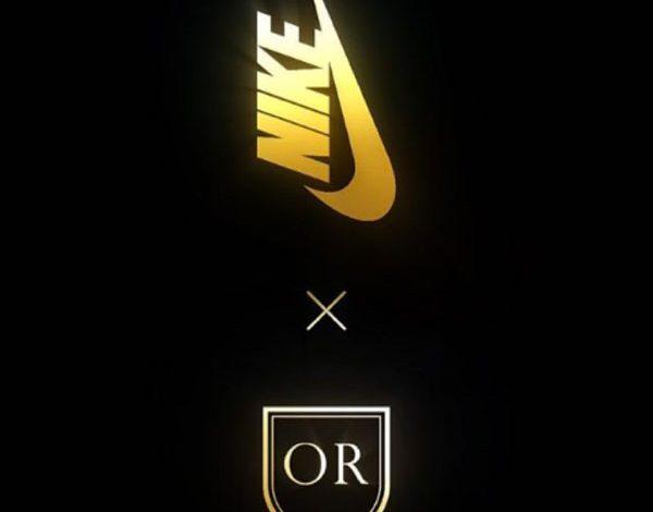Nike arruola Rousteing