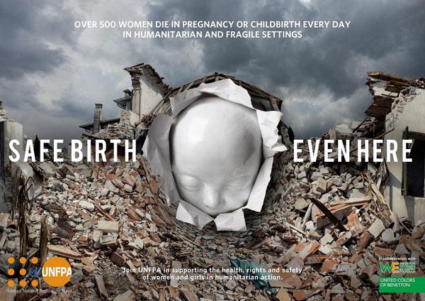 Benetton, campagna per le donne