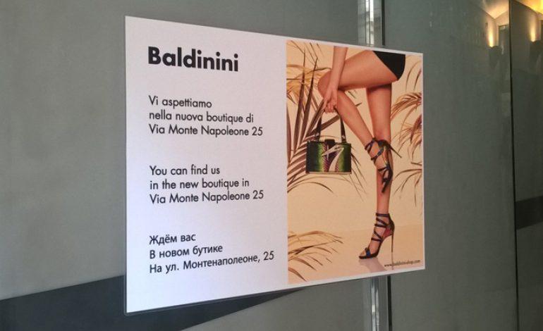 Baldinini chiude in Montenapo 15