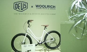 Woolrich Europe corre con la nuova e-bike