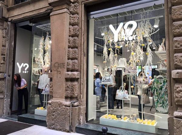 Primo monomarca a Milano per Ynot?
