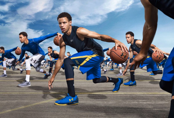 Under Armour cresce del 28% nei sei mesi