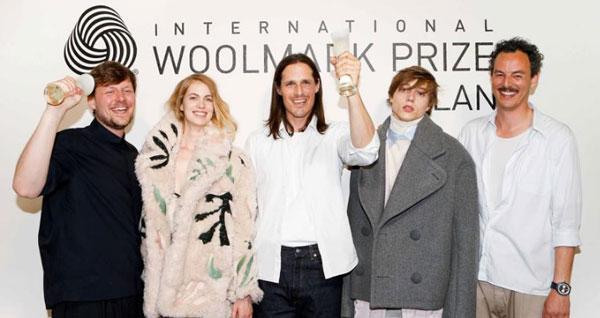 Woolmark Prize Europa a Tonsure e Labenda