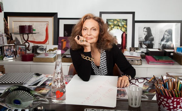 Diane von Furstenberg riconfermata dal Cfda