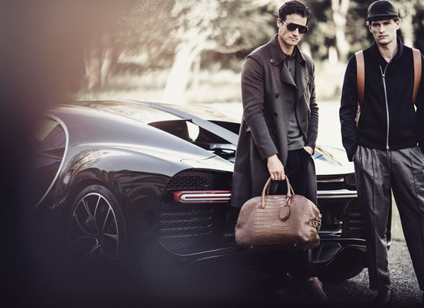 Armani, capsule collection con Bugatti