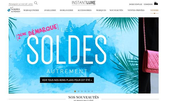 Galeries Lafayette si compra Instantluxe