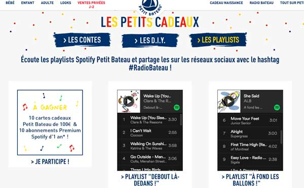 Petit Bateau va in onda con la sua radio