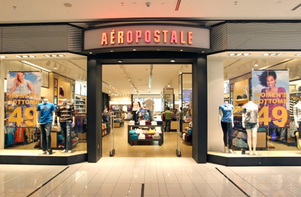 Authentic Brands salva Aéropostale