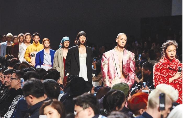 Una sfilata della Seoul fashion week