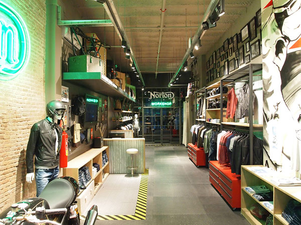 Norton Clothing sbarca nel retail