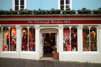 Edinburgh Woollen aprirà 200 negozi in Uk