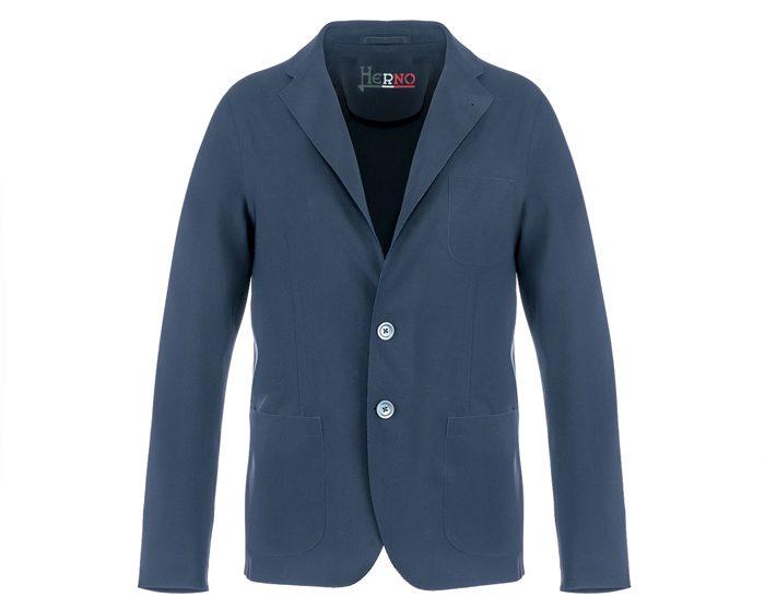 La giacca Herno realizzata in collaborazione con Eurojersey e radici Group