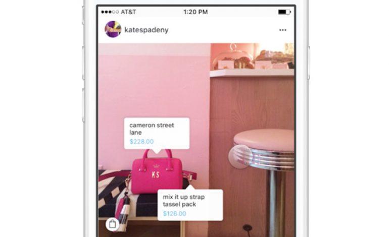 Instagram, click diretto sull'e-commerce