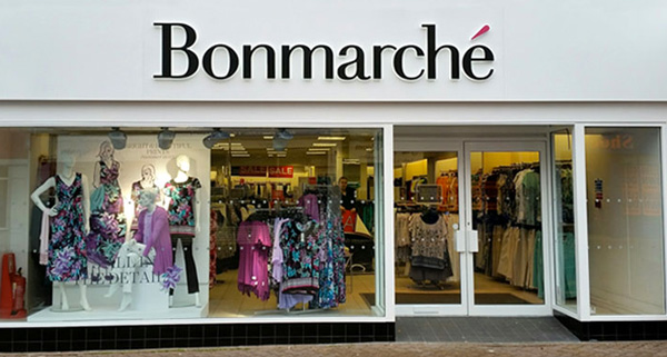 Bonmarché, stop al menswear