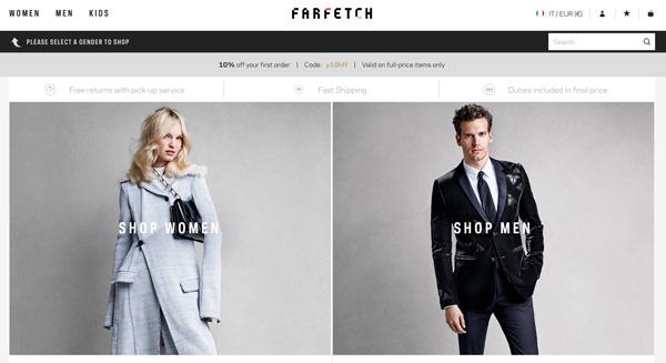 Farfetch, spunta voce di Ipo a New York
