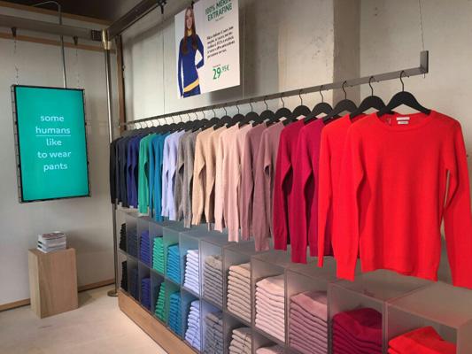 Benetton aprirà 6 nuovi store a Roma