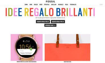 Fossil lancia il nuovo sito e-commerce in Italia