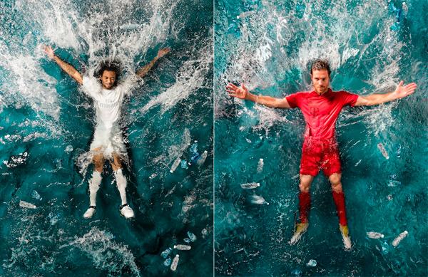 Il Real Madrid si veste con la 'plastica'