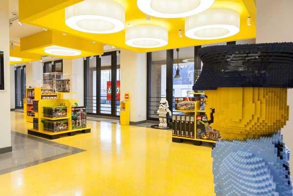 Il retail di Lego alla conquista dell'Italia